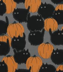 Halloween Material Fabric Halloween Cotton Fabric 45