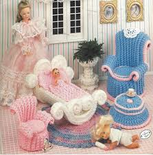 90s mother u0027s corner crochet doll furniture for barbie and doll