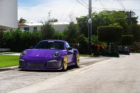 porsche gt3 rs yellow ultraviolet purple porsche gt3 rs adv5 2 m v2 advanced series