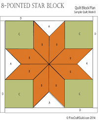 8 pointed star block beginners quilt workshop