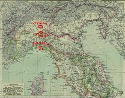 Northern Italy Map by Stitchlily Rapallo Italy Part Iii
