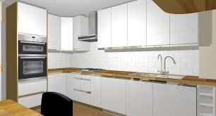 great kitchen design software with all white paint design
