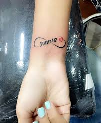 tattoo name infinity 90 name tattoos that will have you yelling what s my name