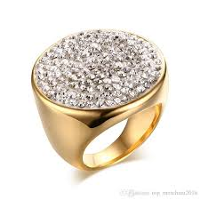the goods wedding band new arrive golden classic shiny rhinestone elegance diamonds