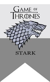 Black Flag Family Game Of Thrones Stark Family Banner Flag 3x5 In Flags Banners