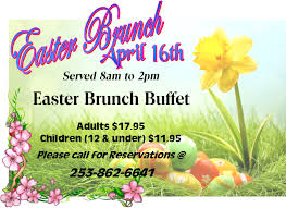 Easter Brunch Buffet by Easter Brunch Buffet Tapps Island