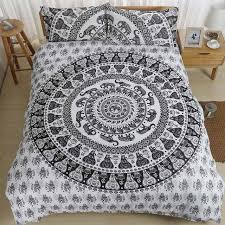 home india bedding sets bohemian cotton quilt