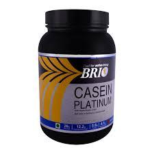 Casein Protein Before Bed Brio Casein Platinum 1kg Gluten Free Proteins Supplements