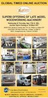 Woodworking Machinery Auction by Furniture Traditions U0027 Online Auction