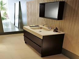 30 Inch Modern Bathroom Vanity Vintage White Vanity Combo Sink On Brown Harwood Floor Also Wooden