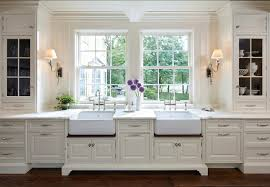 Traditional White Kitchens - traditional home with classic white kitchen home bunch