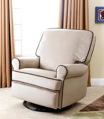 Fabric Glider Recliner With Ottoman Fascinating Reclining Glider Rocker Epromote Site