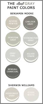best gray paint colors benjamin moore the best gray paints for your home cedar hill farmhouse