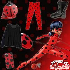Lady Bug Halloween Costume Miraculous Style Series Ladybug Miraculous Ladybug
