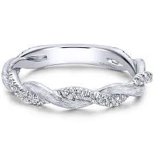 satin finish ring finley twist satin finish diamond ring