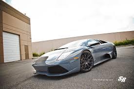 Lamborghini Murcielago Grey - lamborghini murcielago on pur wheels gtspirit