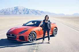 fast and furious 8 cars fast u0026 furious star sets new record in a jaguar f type svr www