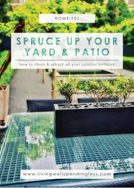 How To Remove Mold From Patio Cushions by How To Clean Outdoor Surfaces Spruce Up Your Yard U0026 Patio