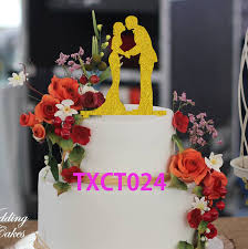 online get cheap wedding silhouette cake aliexpress com alibaba