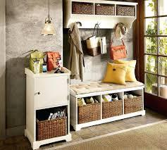 Tall Storage Bench Bamboo Shoe Rack Storage Organizer Hallway Bench Furniture