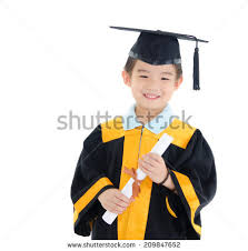 kids cap and gown free photos happy asian school kid graduate in graduation cap