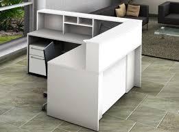 L Shaped Computer Desks With Hutch by Ofislite L Shape Corner Desk With Hutch Wayfair