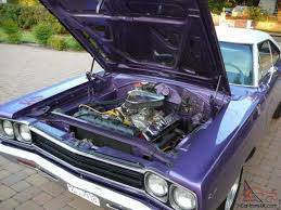 plymouth roadrunner factory correct 383 v8 4v 4 speed manual in vic