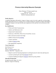 Resume Sample Objectives For Internship by Cpa Internship Resume Junior Accounting Resume Sample Internships