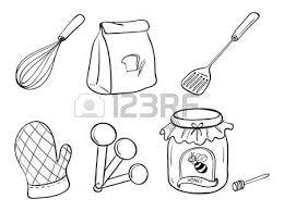 dessin ustensile de cuisine cuisine dessin 79 dessins de coloriage cuisine à imprimer sur