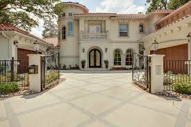 house paint colors exterior simulator mediterranean house exterior with two garages front small colors