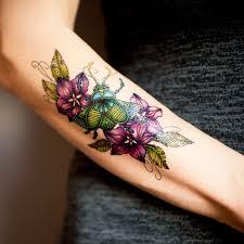 you temporary tattoo beetle