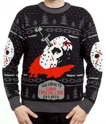 chucky sweater slasher sweaters church of