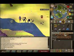 Runescape Urn guide fishing live mentary
