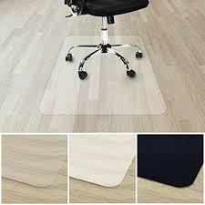 tapis bureau transparent tapis protège sol transparent casa pura vinyle sol 100 recyclé