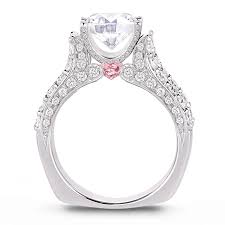 Pink Diamond Wedding Rings by Lugaro Argyle Pink Diamond Engagement Ring