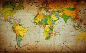 World Map Countries Mesmerizing World Map Wallpaper For Walls India World Map