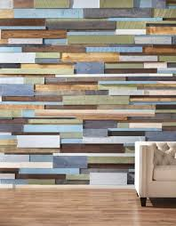wooden wall in the interior an evergreen that seems both rustic