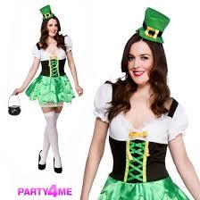 irish halloween costume ladies lucky leprechaun irish st patricks day fancy dress