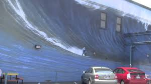 Surf Mural by Huge Surfing Mural At Half Moon Bay 1080p Youtube