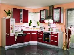 modern red kitchen kitchen best modern red cupboard designs for kitchen with white