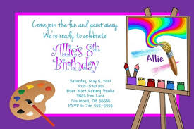 paint party invitations theruntime com