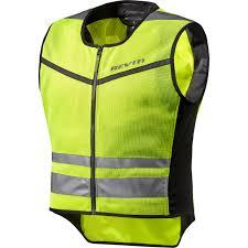 fluorescent cycling jacket rev it athos air 2 motorcycle motorbike over vest hi vis