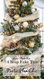 charm rustic farmhouse tree and holidays