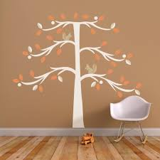christmas tree alternatives for small spaces treewithsquirrel orange3