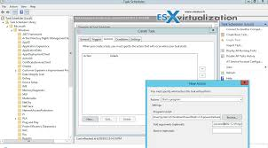 how to schedule a task in windows how to run vcheck to get you started esx virtualization
