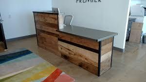 Reception Desks Uncategorized Unique Reception Desk With Imposing Reception