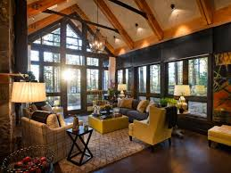 rustic livingroom rustic living room ideas decorating hgtv