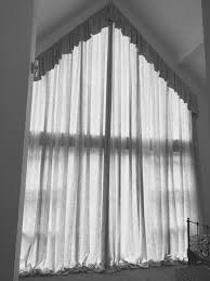 Curtain Designs For Arches How To Make Curtains For A Slanted Window Szukaj W Google