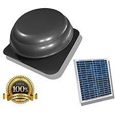 amazon com solar attic fan 24 watt with 25 year warranty home