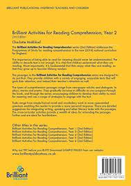 2nd Reading Comprehension Worksheets Brilliant Activities For Reading Comprehension Year 2 2nd Edition